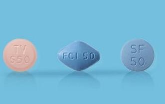 ED治療薬の錠剤